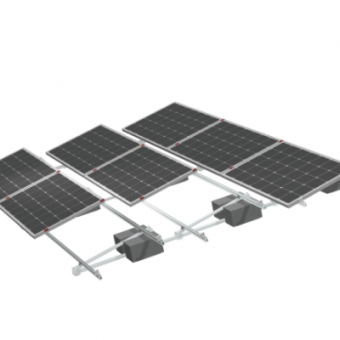 supplier ng solar ballast bracket sa bubong