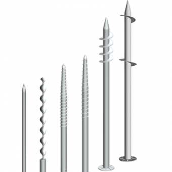 pabrika ng solar mounting ground screw